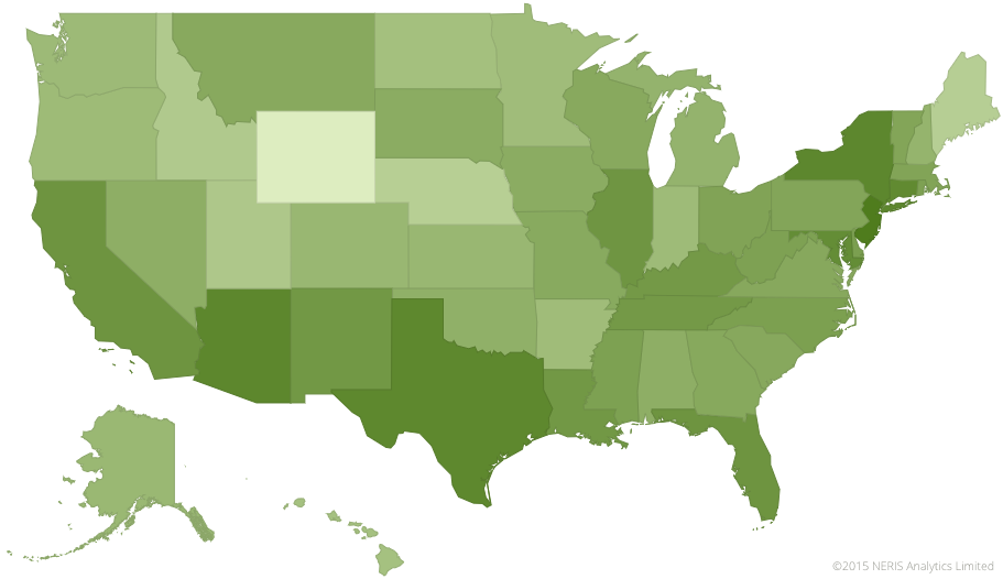 Personality Geography of the United States | 16Personalities